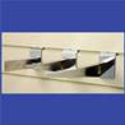 SLATWALL BRACKETS WOOD SHELF 250mm SHOP FITTINGS X50