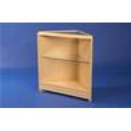 GLASS CORNER TRIANGLE MAPLE COUNTER RETAIL SHOP FITTING