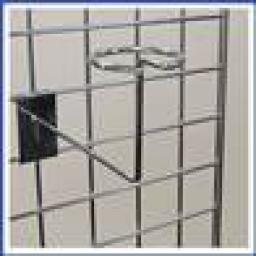 GRIDWALL MILLINERY ARM RETAIL DISPLAY SHOP FITTINGS X25