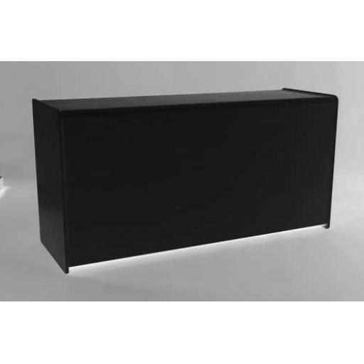 BLACK SHOP DISPLAY COUNTER UNIT 1800mm RETAIL FITTINGS