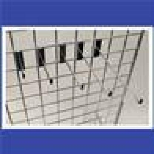 4ヤ GRIDWALL HOOKS RETAIL DISPLAY SHOP FITTINGS X100