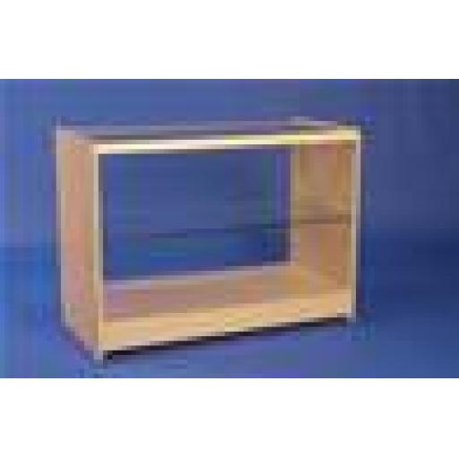 GLASS MAPLE DISPLAY SHOWCASE COUNTER 1200MM RETAIL SHOP FITTING