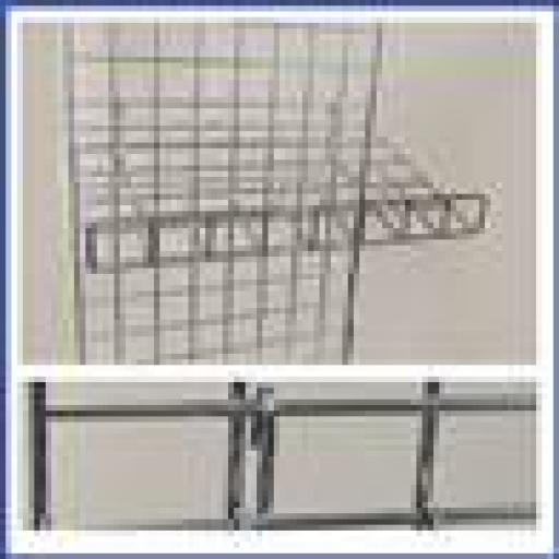 GRIDWALL SLANTING SHELF RETAIL DISPLAY SHOP FITTINGS X4