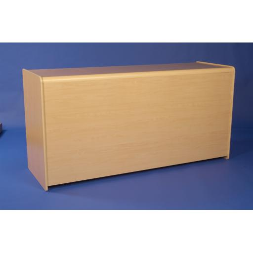 MAPLE SHOP DISPLAY COUNTER UNIT 1800mm RETAIL FITTINGS