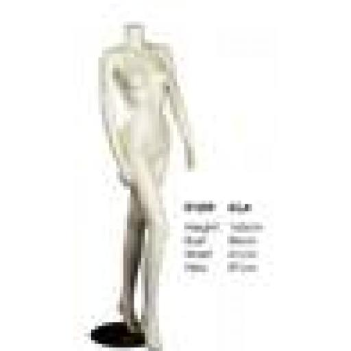 NEW FEMALE HEADLESS MANNEQUIN ELLA SHOP DISPLAY WHITE